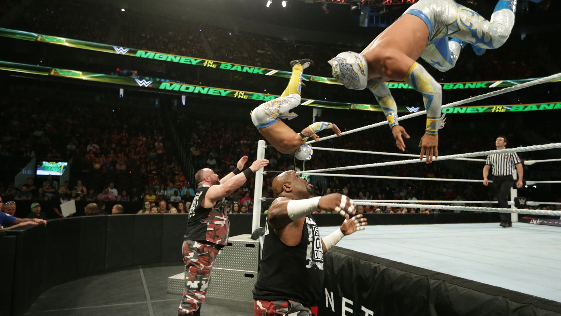 WWE Network: Lucha Dragons vs. The Dudley Boyz: WWE Money in the Bank 2016 Kickoff