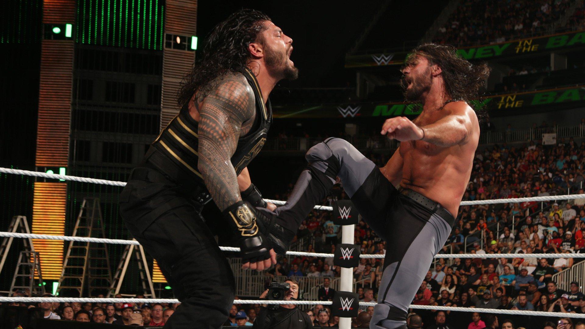 WWE Network: Roman Reigns vs. Seth Rollins - Match de Championnat du Monde Poids-Lourds de la WWE: WWE Money in the Bank 2016