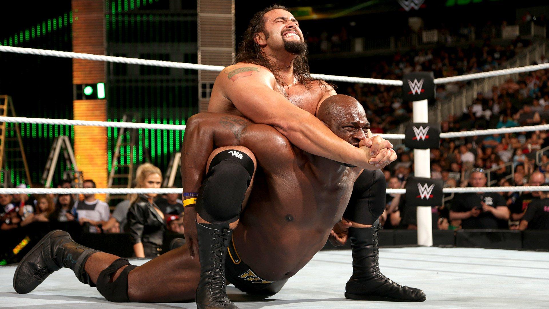 WWE Network: Titus O'Neil vs. Rusev - Match de Championnat U.S.: WWE Money in the Bank 2016