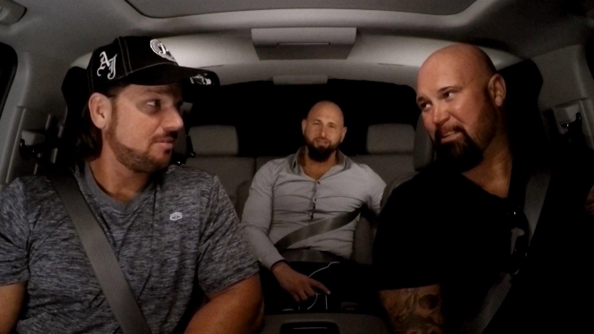 WWE Network: AJ Styles et The Club se souviennent d'avoir grandi dans WWE Ride Along
