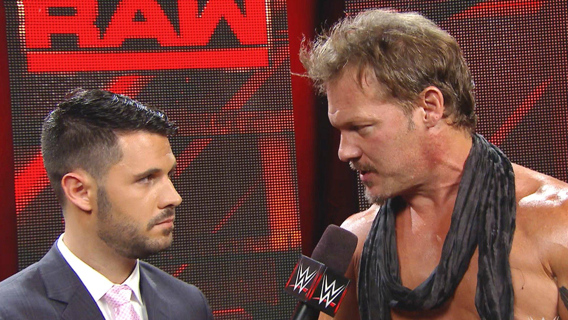 Chris Jericho trouve quelqu'un pour couvrir ses arrières: Raw, 1er août 2016