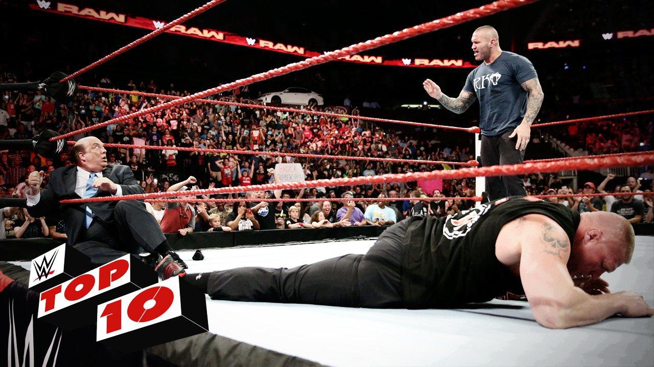Top 10 des moments de Raw: WWE Top 10, 1er août 2016