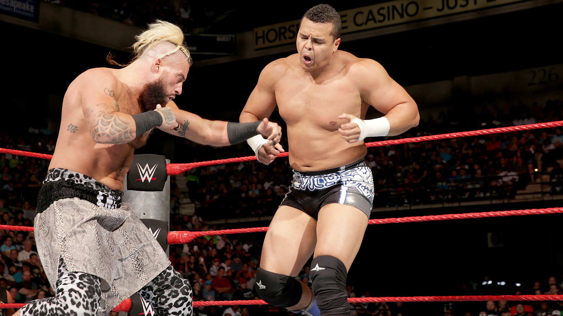 Enzo Amore vs. Epico: Raw, Sept. 12, 2016