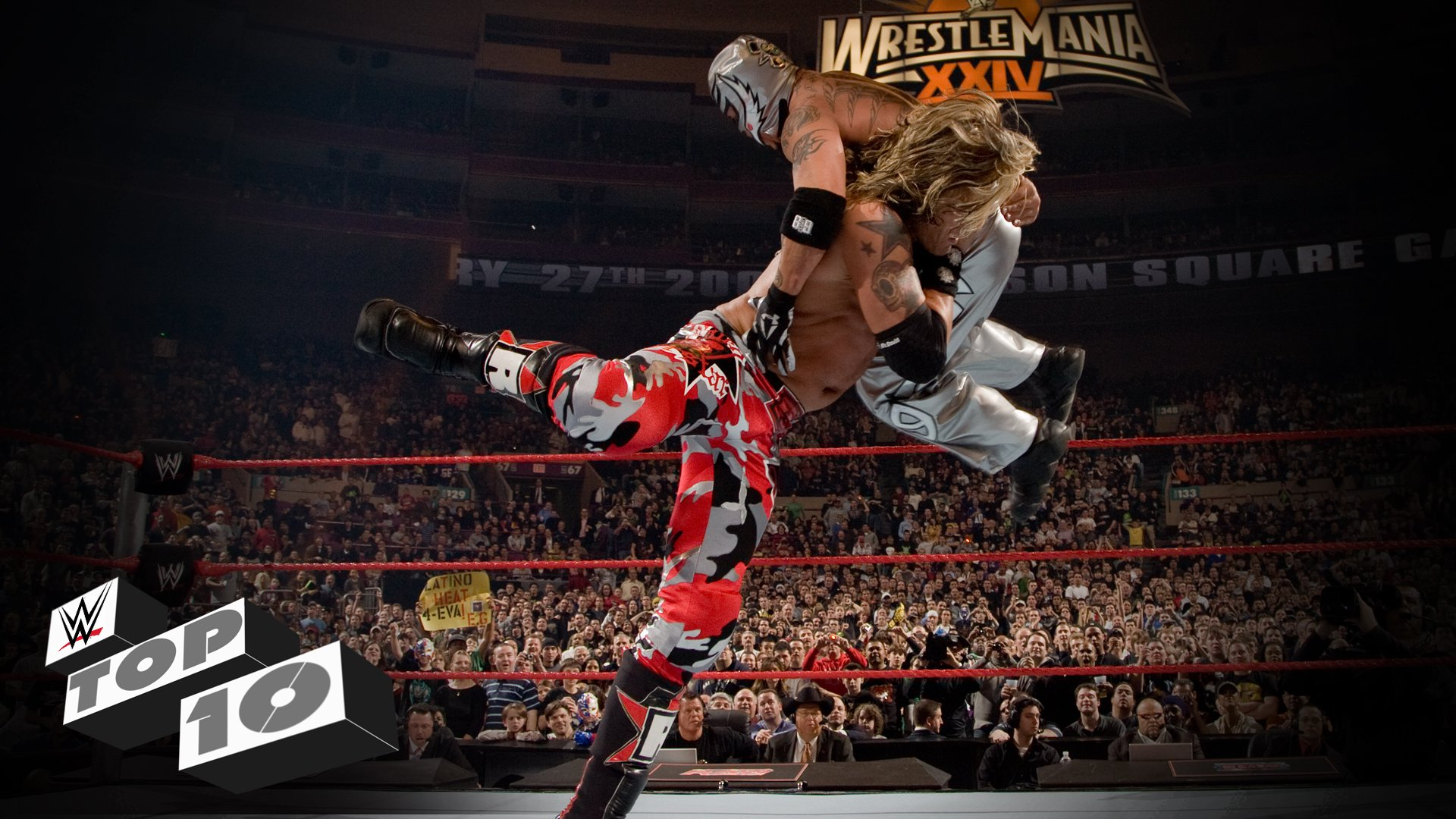 Amazing Mid-Air Finishers - WWE Top 10, Sept. 12, 2016
