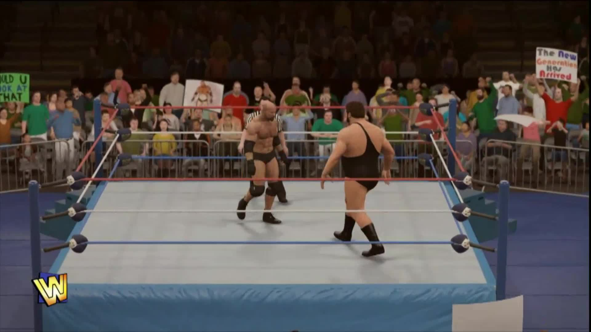 WWE 2K17 Fantasy Showdown: Goldberg vs. Andre the Giant