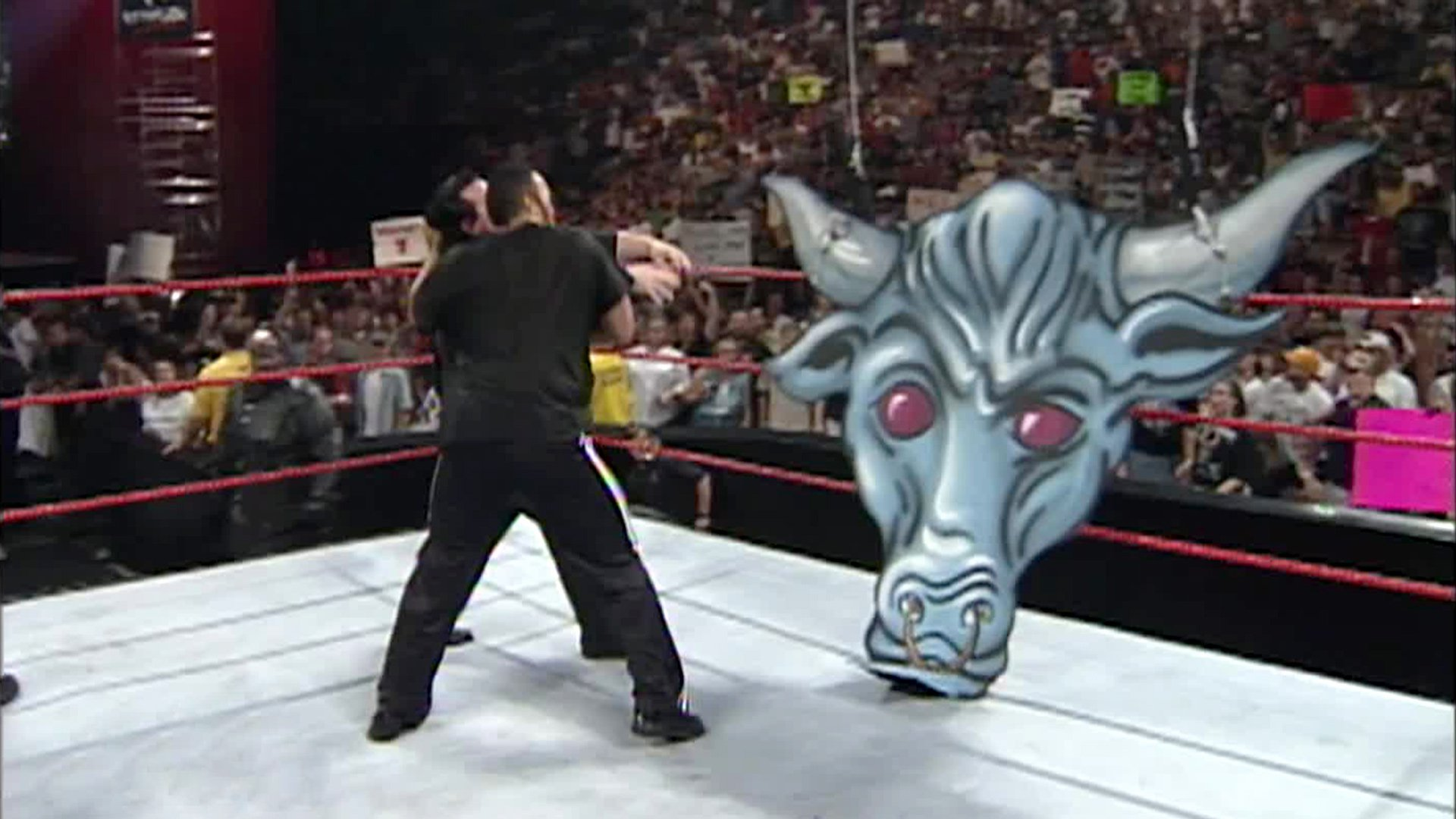 The Rock sacrifices Paul Bearer: Raw, June 21, 1999