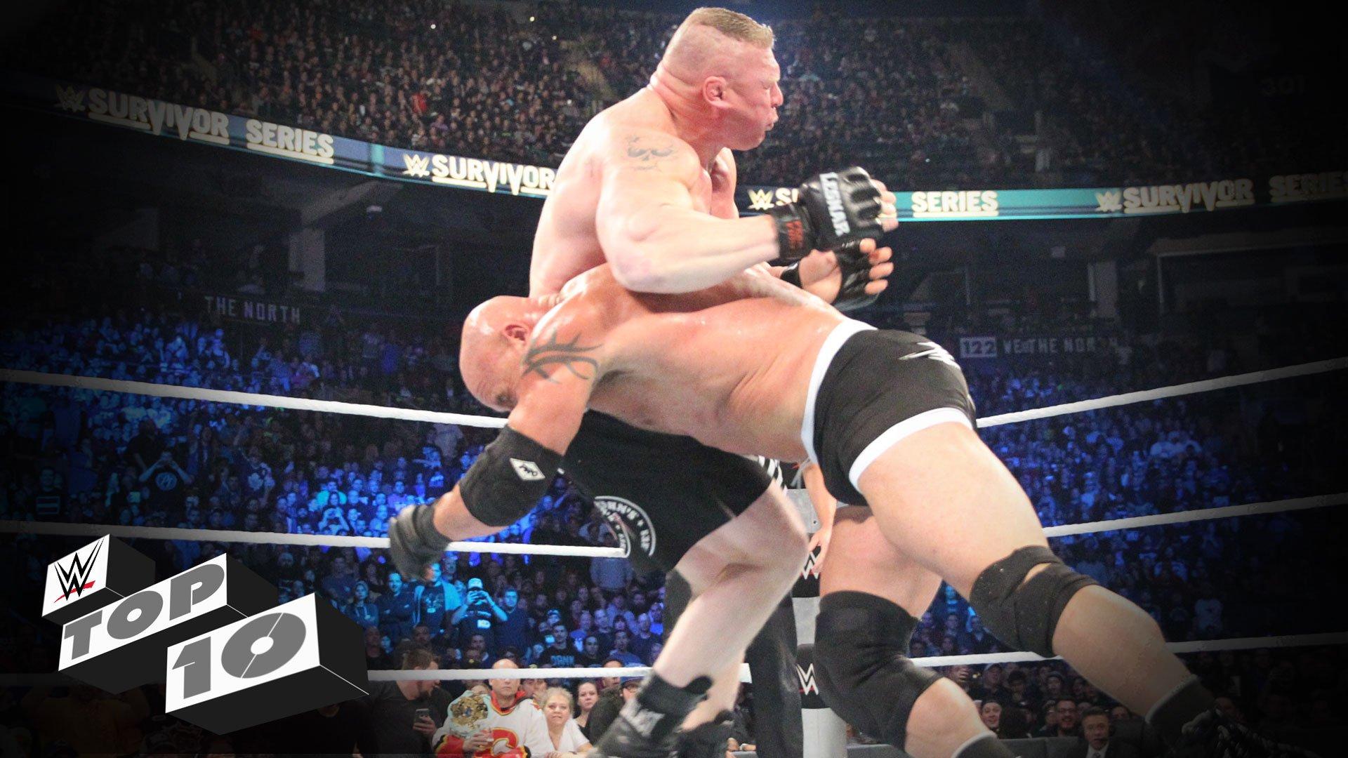 Les retours les plus dominants à la WWE - WWE Top 10, 28 nov. 2016