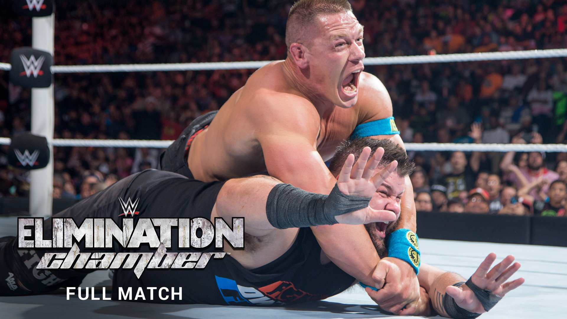 WWE Network: Kevin Owens vs. John Cena (Match Intégral): Elimination Chamber 2015