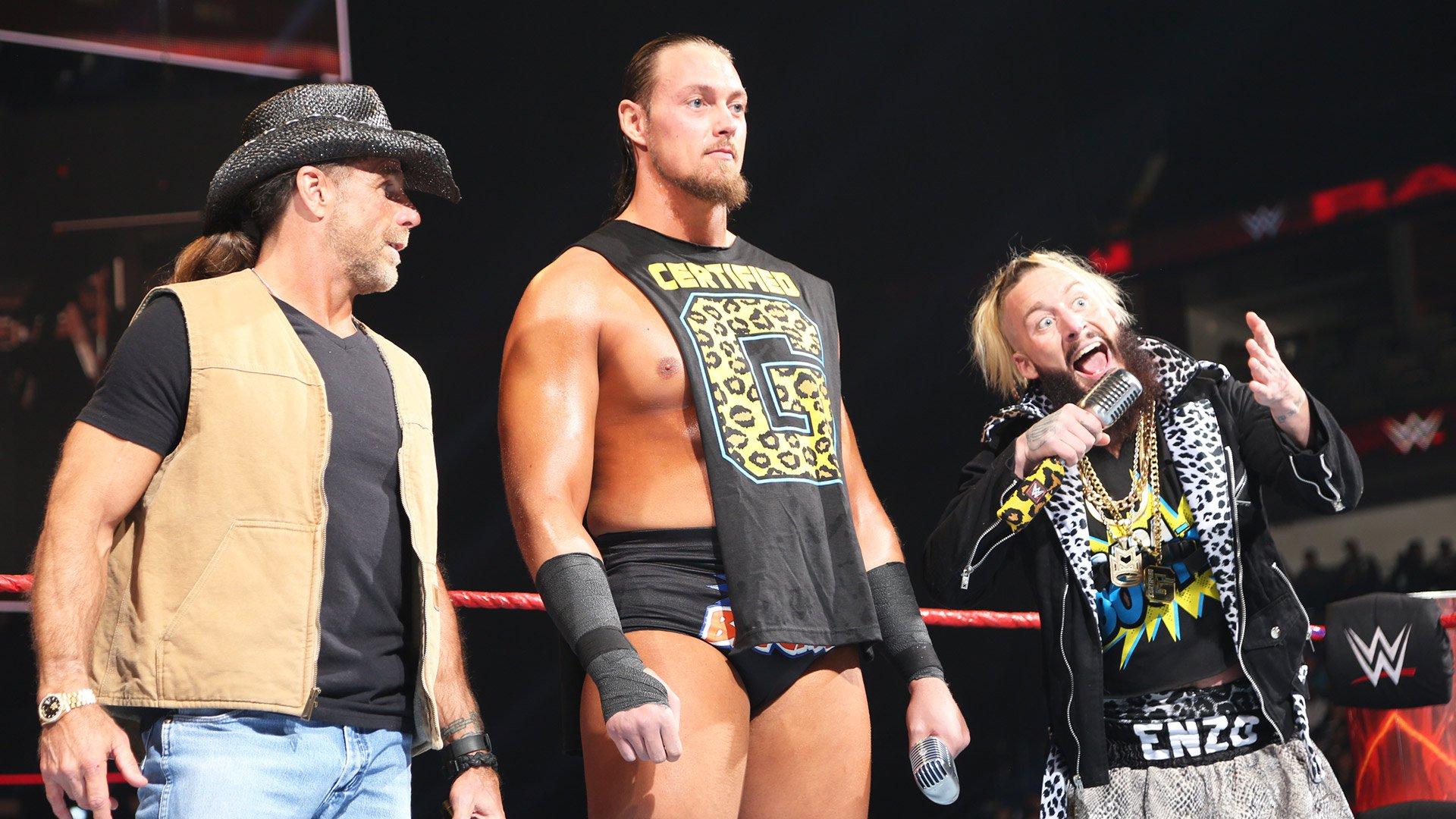 Shawn Michaels reçoit des conseils non sollicités de Rusev et Lana: Raw, 9 janvier 2017