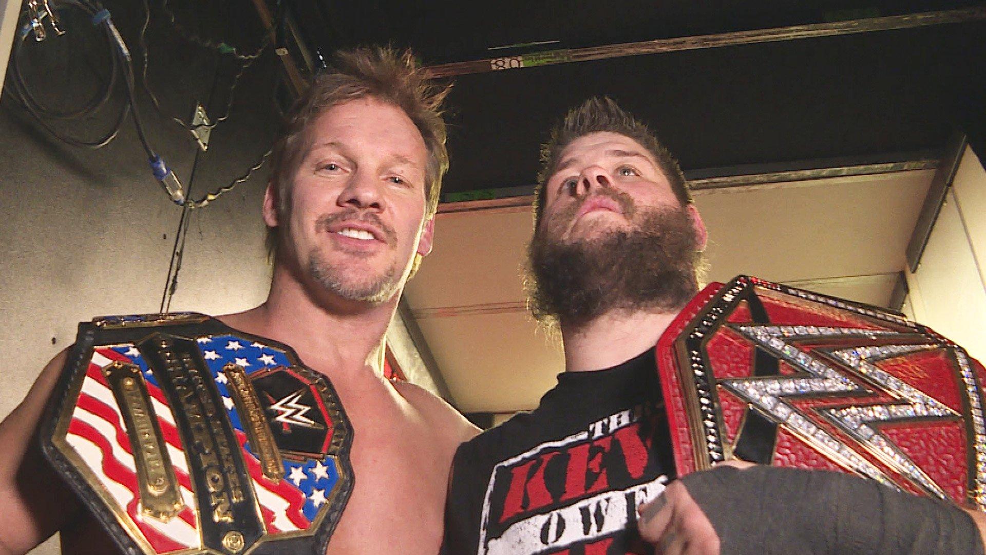 Chris Jericho célèbre sa victoire au Championnat U.S. avec son meilleur ami: WWE.com Exclusive, 9 janvier 2017