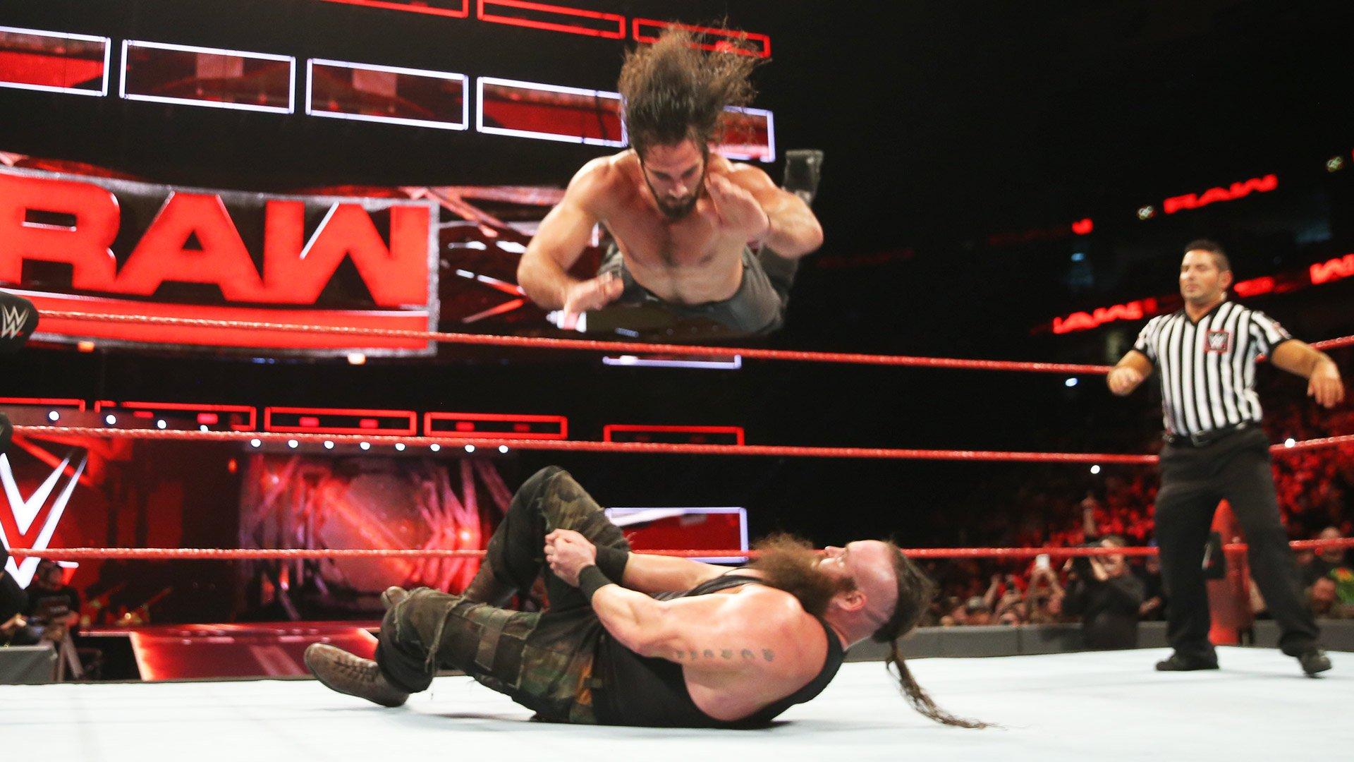 Seth Rollins vs. Braun Strowman: Raw, 9 janvier 2017