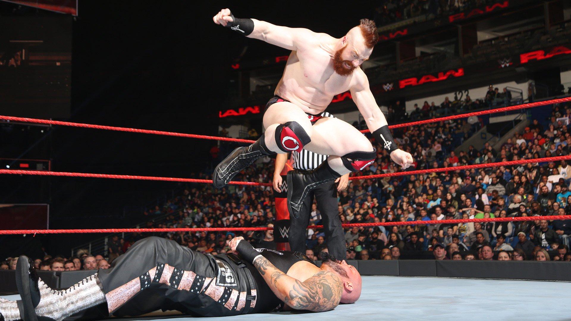 Sheamus vs. Luke Gallows: Raw, 9 janvier 2017