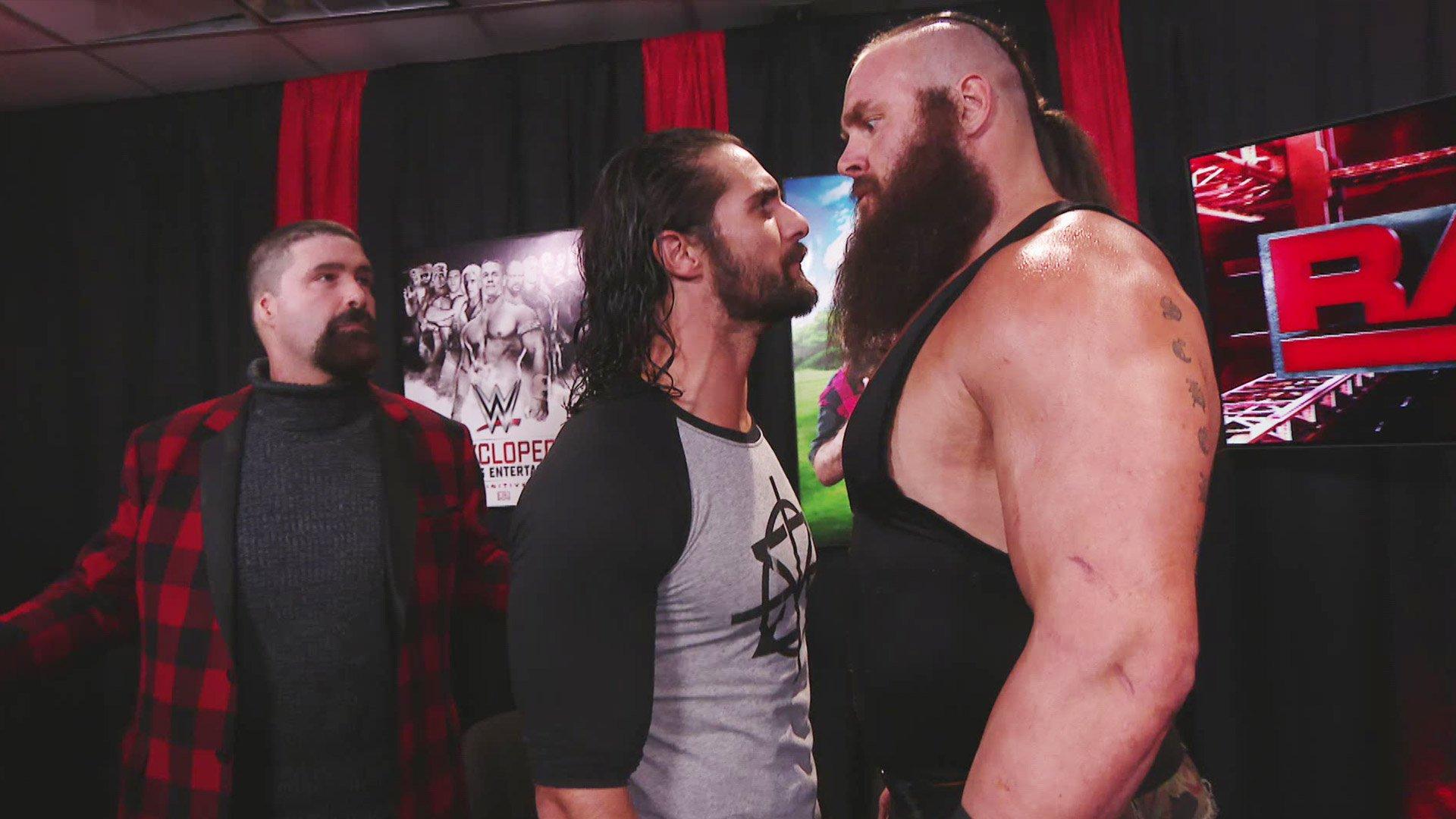 Seth Rollins tient tête à Braun Strowman: Raw, 9 janvier 2017