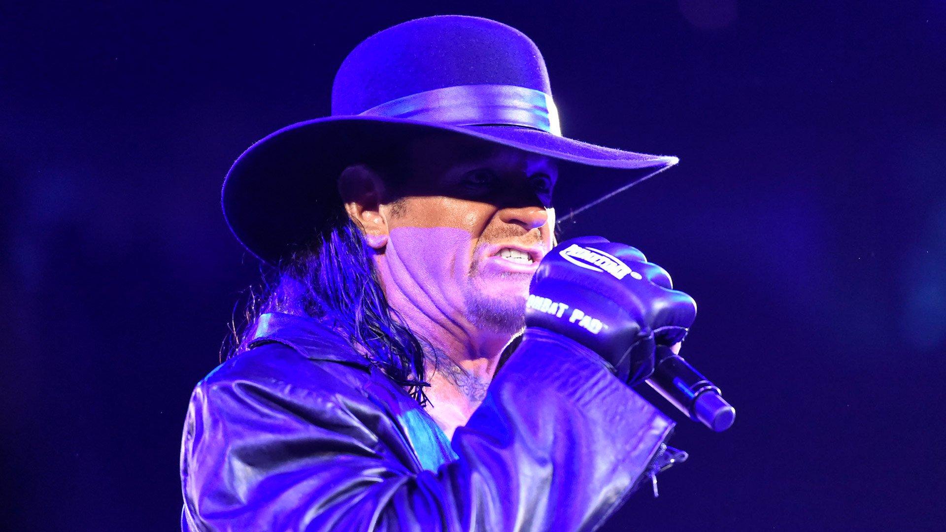 The Undertaker fait une annonce terrifiante pour le Royal Rumble Match: Raw, 9 janvier 2017