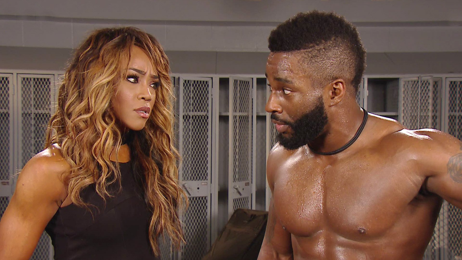 Cedric Alexander rompt avec Alicia Fox: WWE 205 Live, 10 jan. 2017