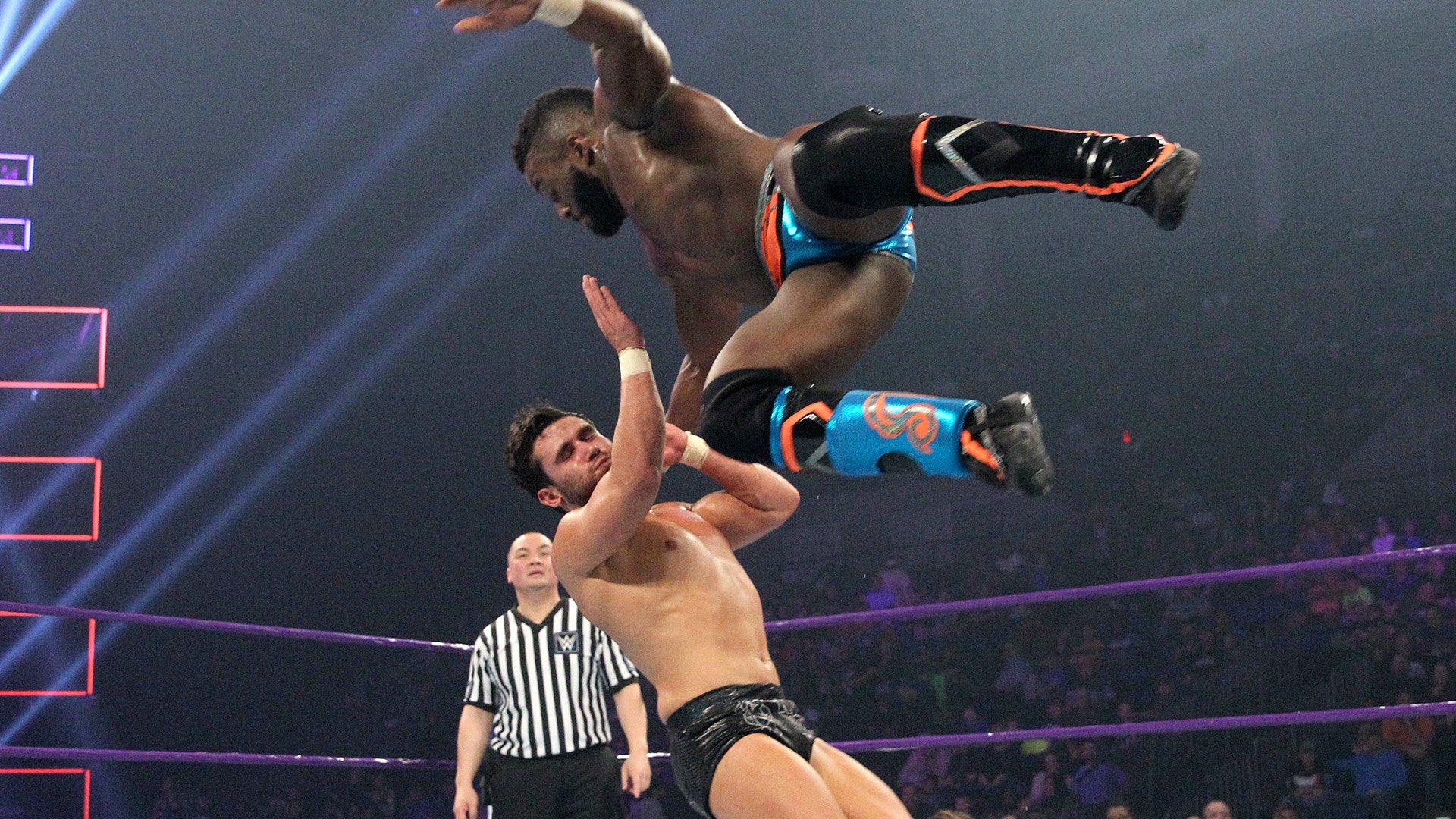 Cedric Alexander vs. Noam Dar: WWE 205 Live, 10 jan. 2017