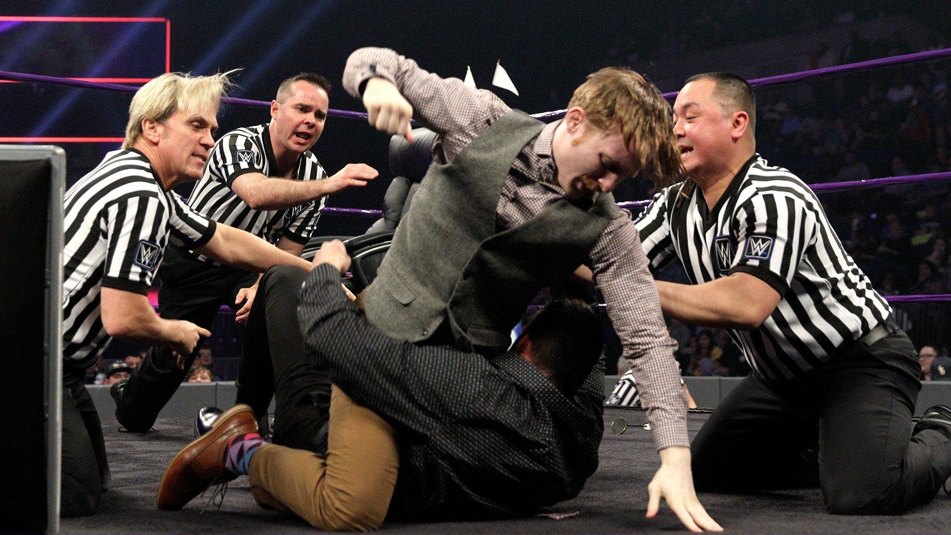 Jack Gallagher et Ariya Daivari en pourparlers pour régler leurs différends: WWE 205 Live, 10 jan. 2017