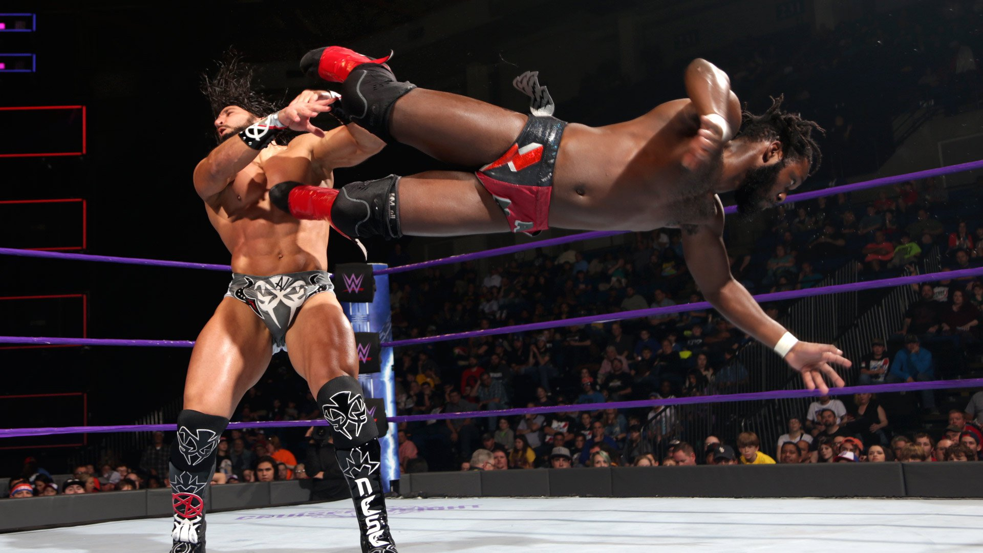 Rich Swann vs. Tony Nese: WWE 205 Live, 10 jan. 2017
