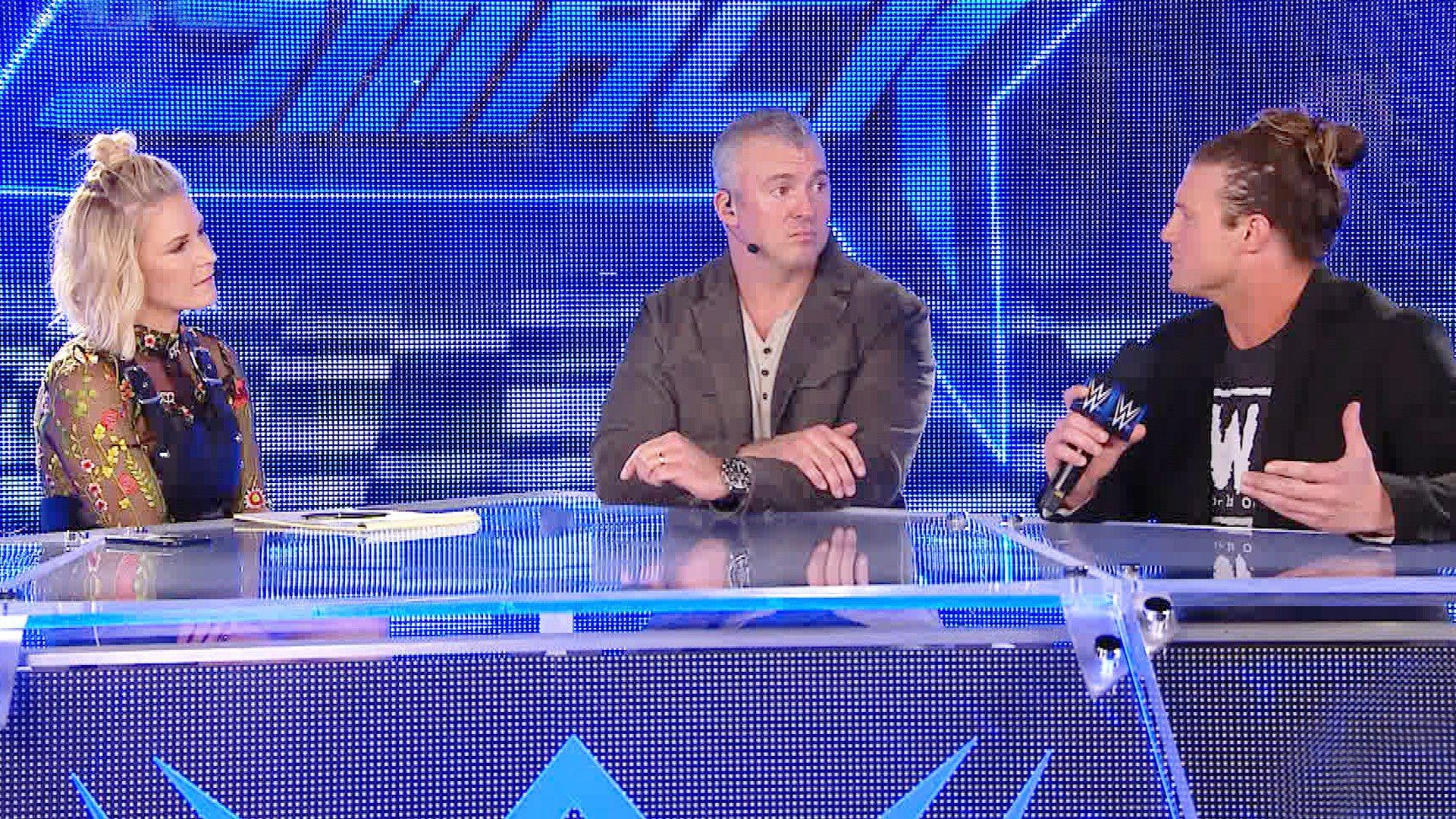 Dolph Ziggler déclare qu'il participera au Royal Rumble Match: WWE Talking Smack, 10 jan. 2017