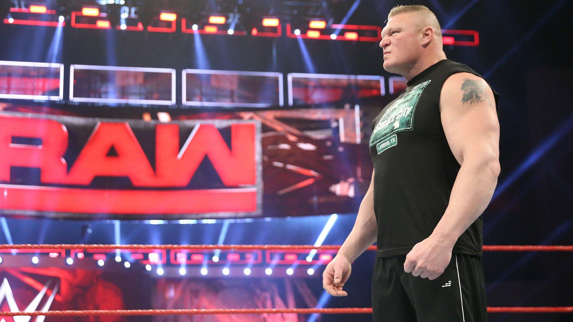 Brock Lesnar chce starcia z Goldbergiem na WrestleManii 33: Raw 30.01.17