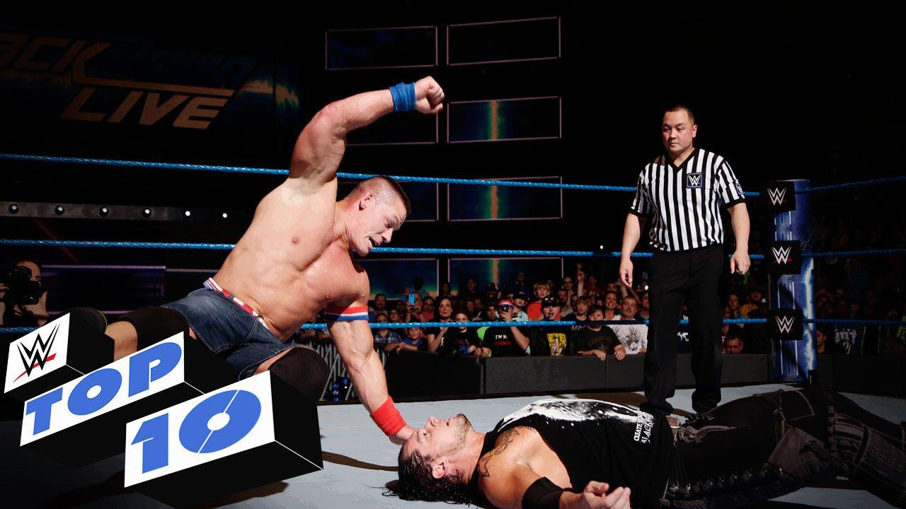 Top 10 des moments de SmackDown LIVE: WWE Top 10, 10 jan. 2017