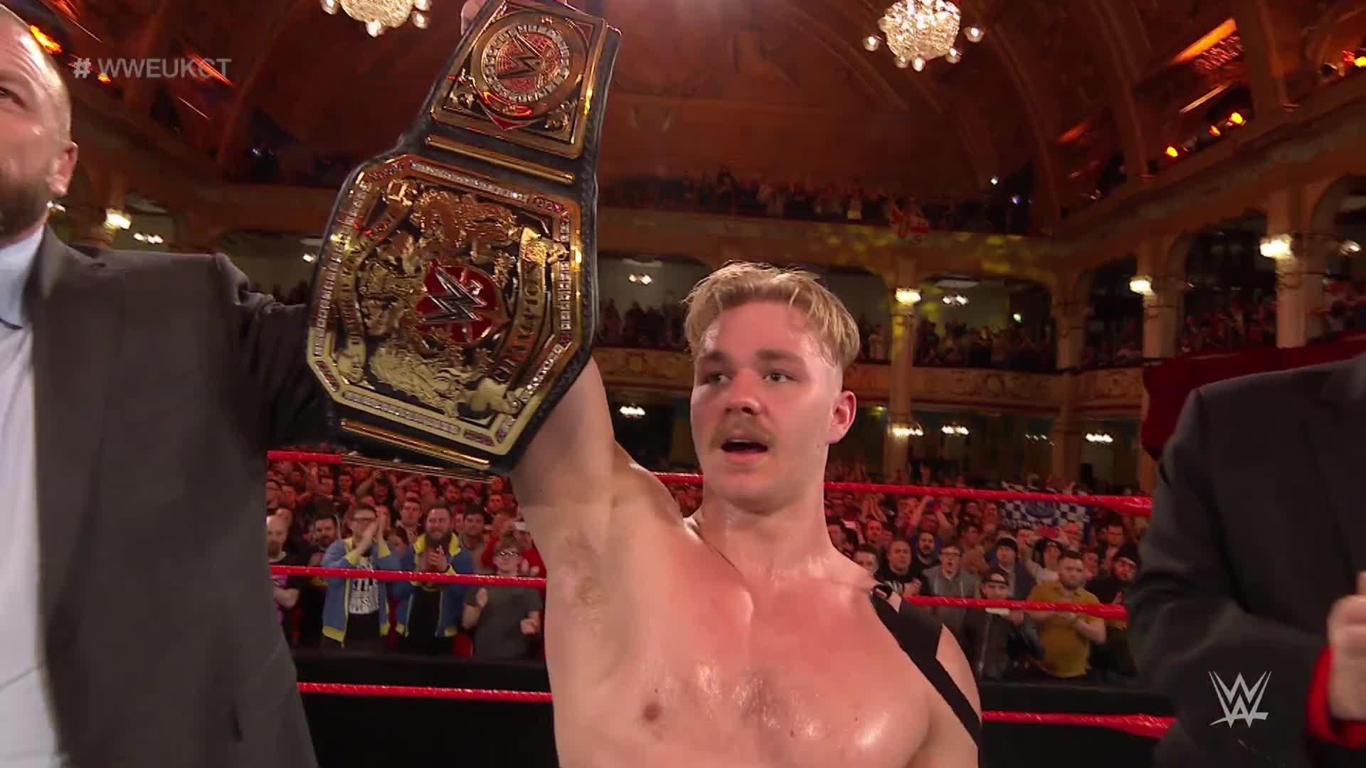 WWE Network: Tyler Bate est couronné premier WWE United Kingdom Champion: WWE United Kingdom Championship Tournament