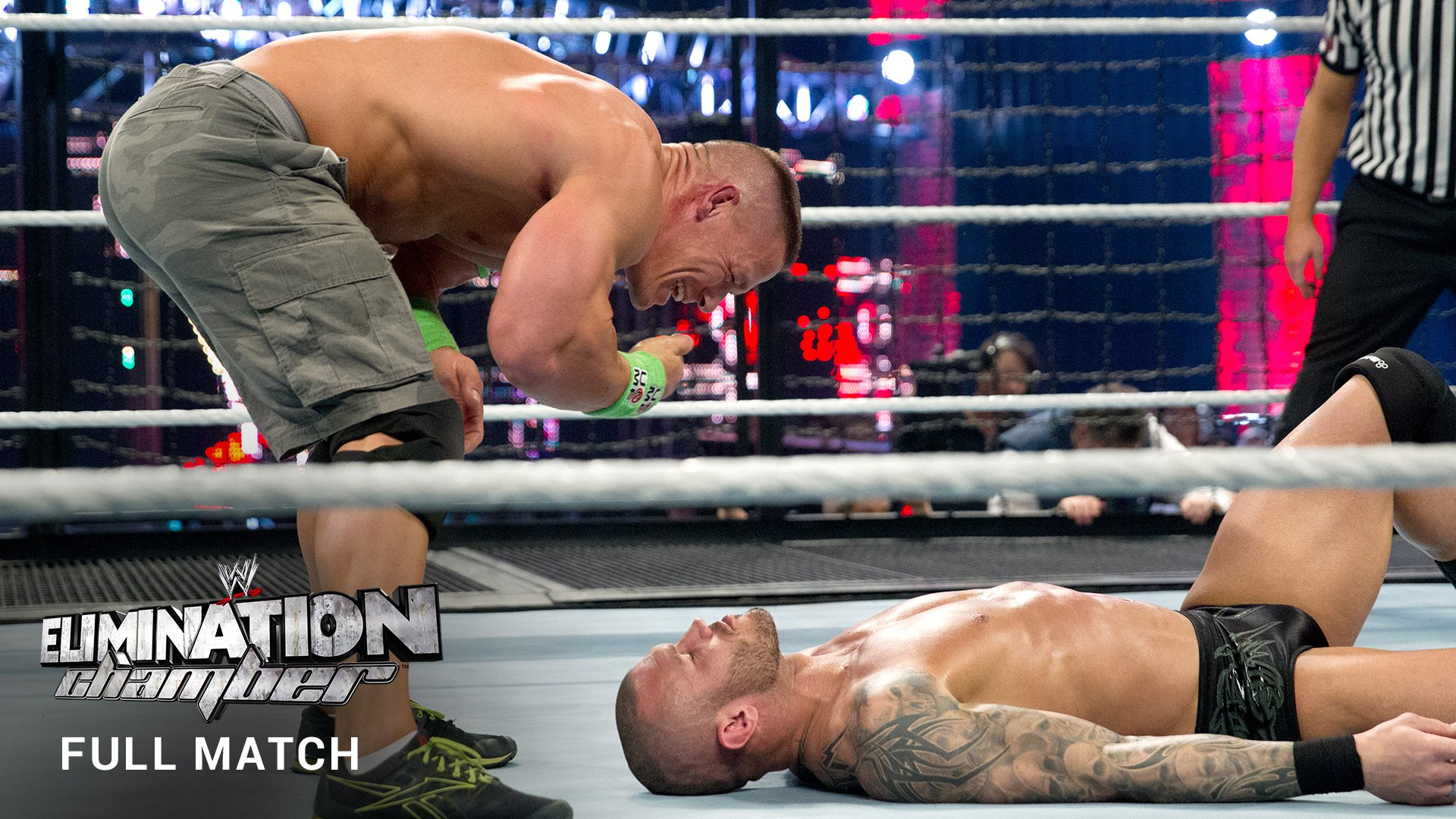 WWE Network: World Heavyweight Title Elimination Chamber Match (FULL MATCH): Elimination Chamber 2014