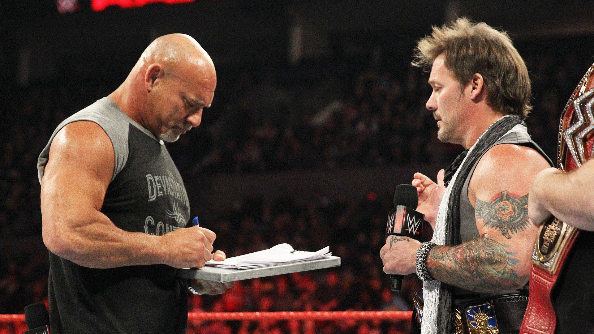 Goldberg akceptuje wyzwanie Brocka Lesnara: Raw 06.02.17