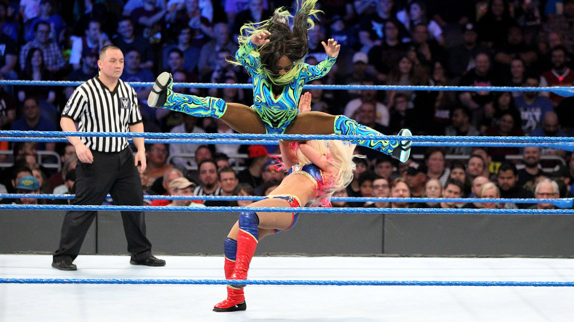 Alexa Bliss vs. Naomi - Starcie o Mistrzostwo Kobiet SmackDown: Elimination Chamber 2017 (WWE Network Exclusive)