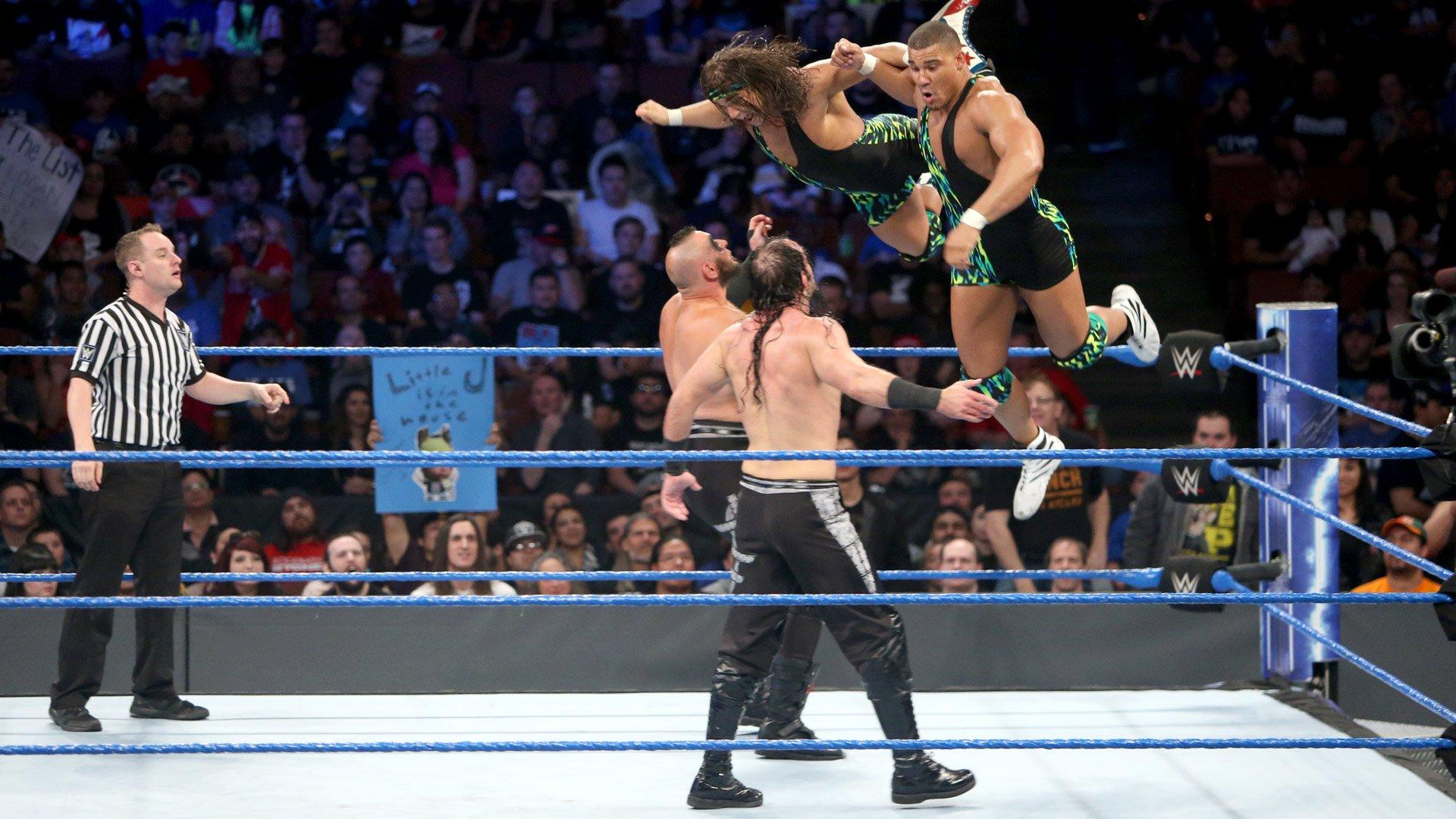 American Alpha vs. The Ascension: SmackDown LIVE, 14 fév. 2017