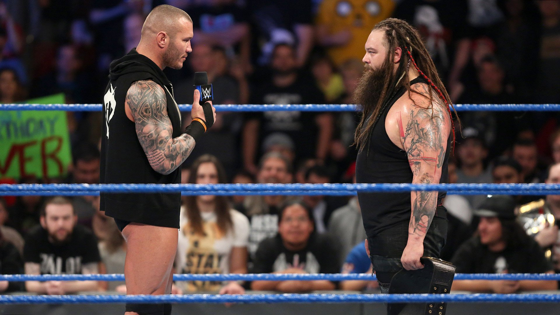 Randy Orton jure de ne pas se mesurer au Champion de la WWE Bray Wyatt dans la compétition de WrestleMania: SmackDown LIVE, 14 fév. 2017