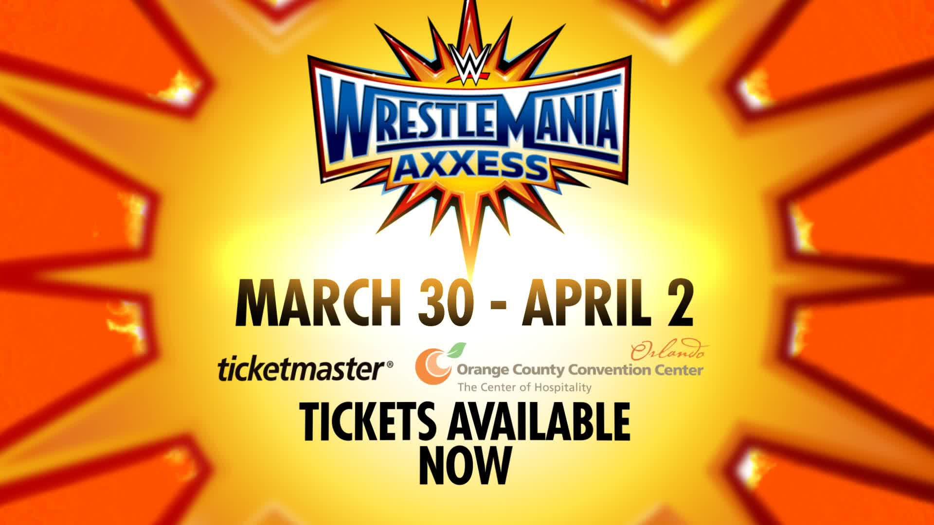 Get WrestleMania Axxess tickets now