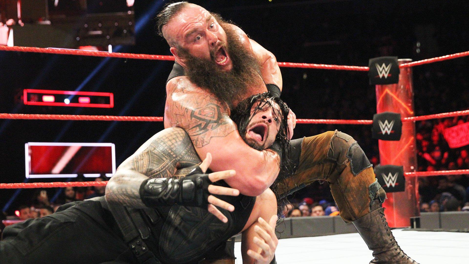 Roman Reigns vs. Braun Strowman: Raw, 20 mars 2017