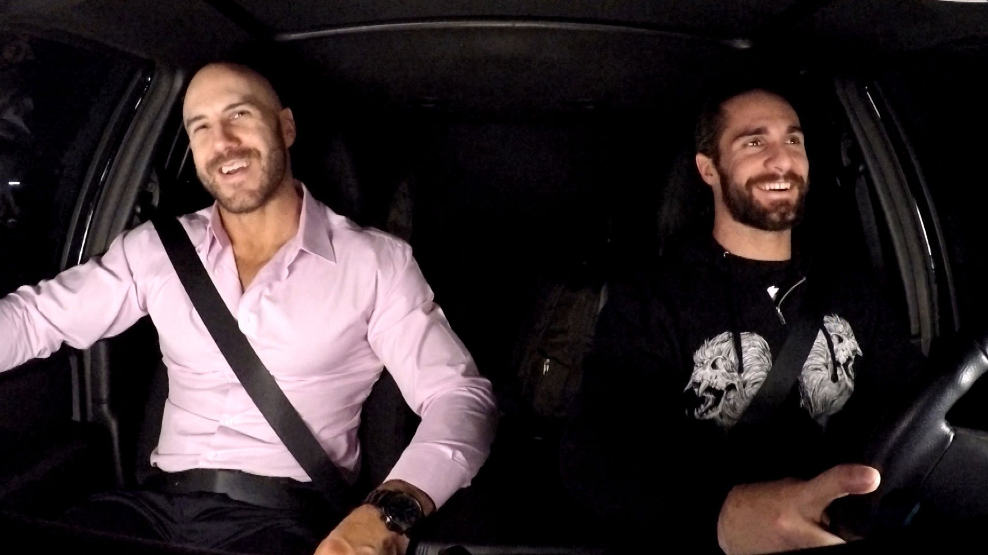 Cesaro partage une road story embarrassante avec Seth Rollins dans WWE Ride Along (WWE Network Exclusive)