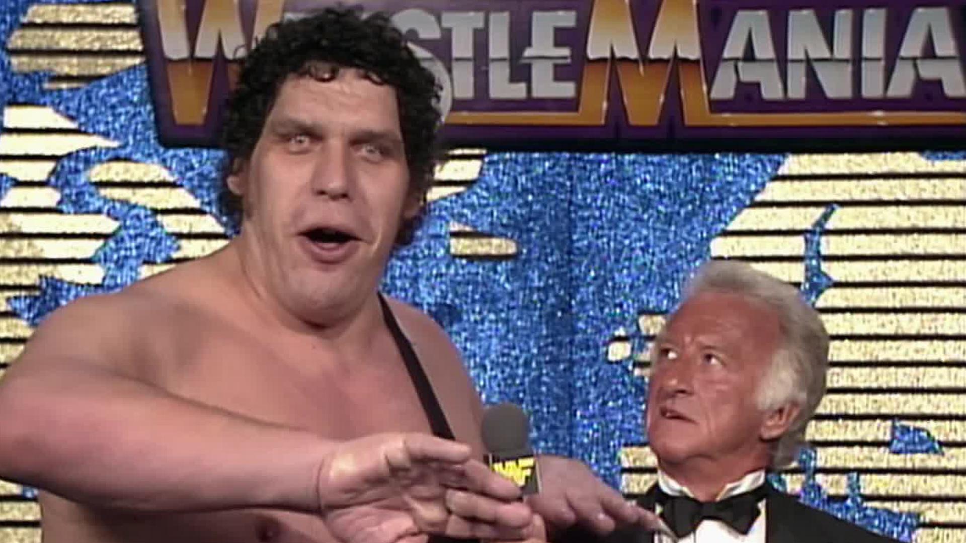 Le sens de l'humour de Bob Uecker lui vaut des problèmes avec Andre the Giant: WrestleMania IV