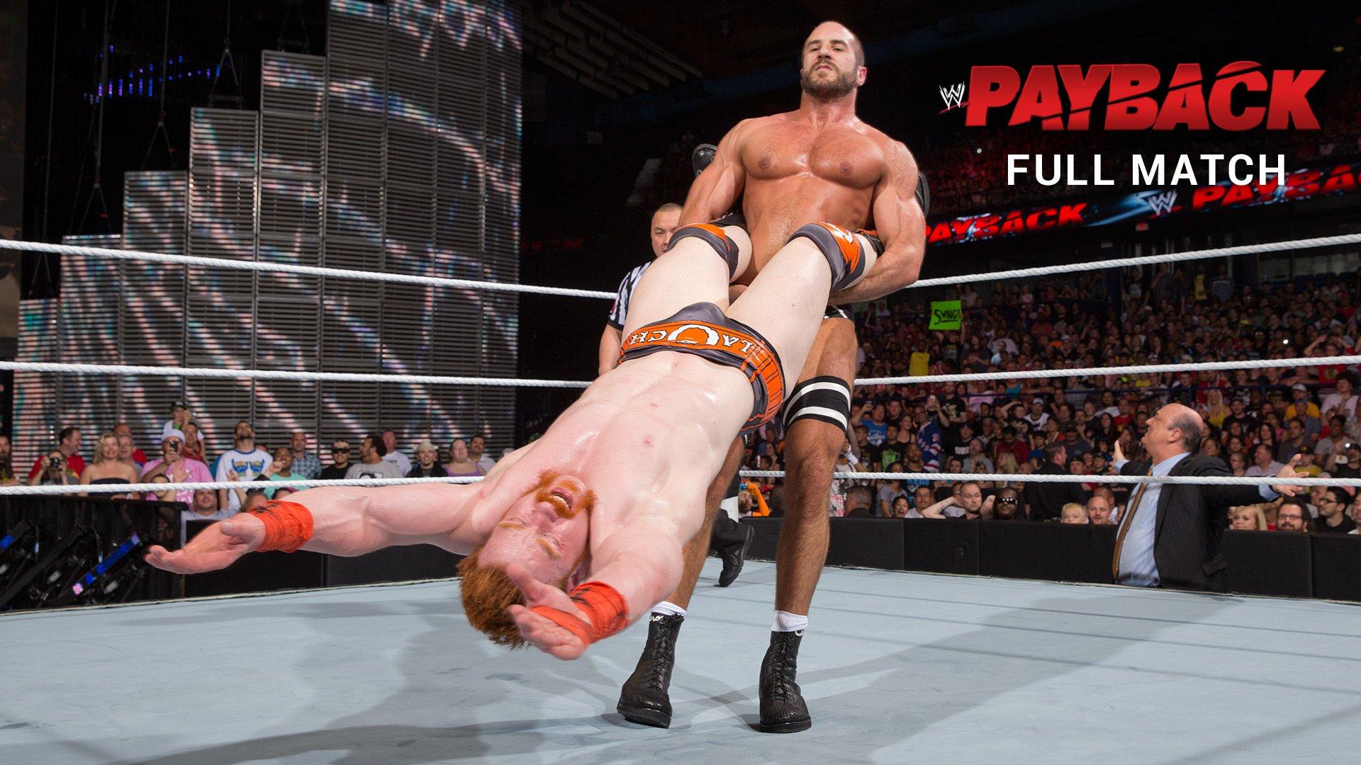 Sheamus vs. Cesaro - Match de Championnat U.S.: WWE Payback 2014 (Match intégral - WWE Network Exclusive)