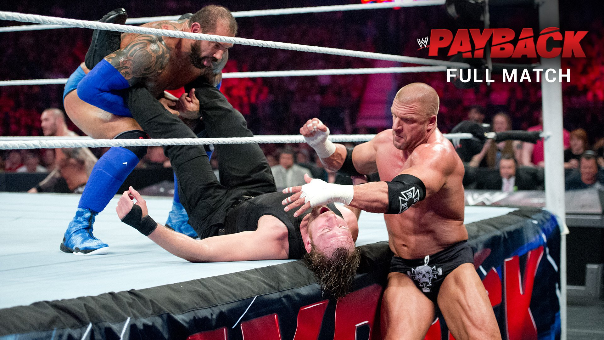 The Shield vs. Evolution - No Holds Barred Elimination Match: WWE Payback 2014 (pełne starcie)