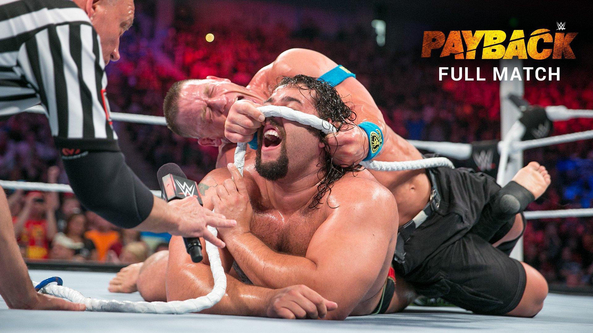 "John Cena vs. Rusev - Championnat U.S. ""I Quit"" Match: WWE Payback 2015 (Match intégral - WWE Network Exclusive)"