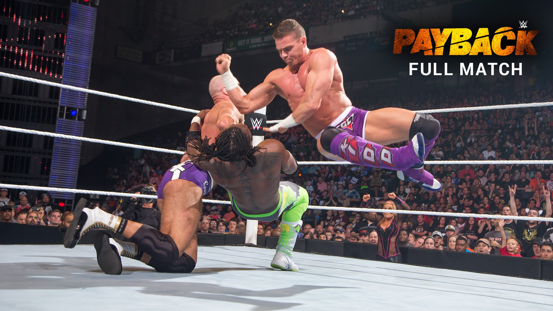 WWE Tag Team Title 2-out-of-3 Falls Match: WWE Payback 2015 (Full Match - WWE Network Exclusive)