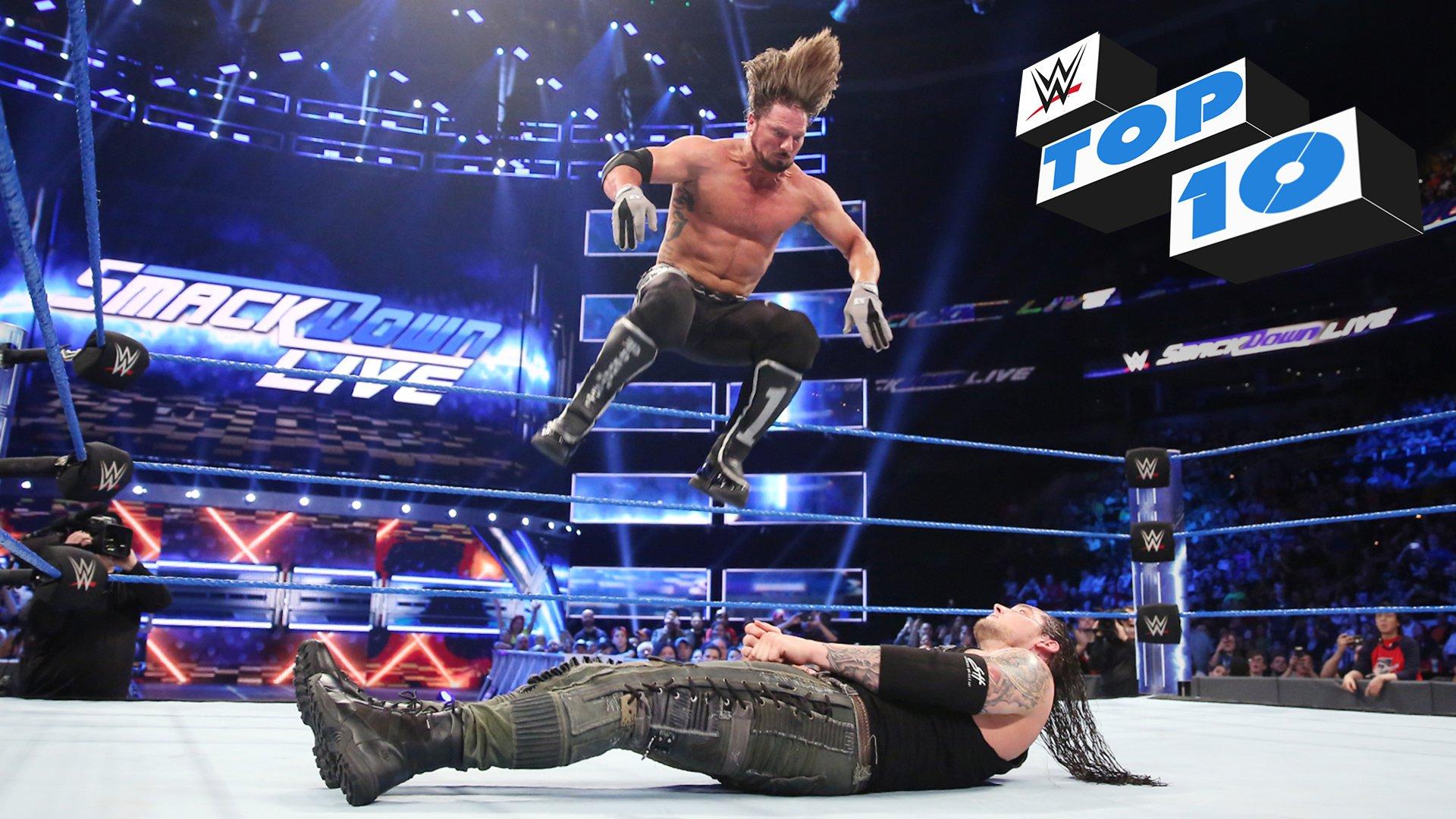 Top 10 des moments de SmackDown LIVE: WWE Top 10, 11 avril 2017