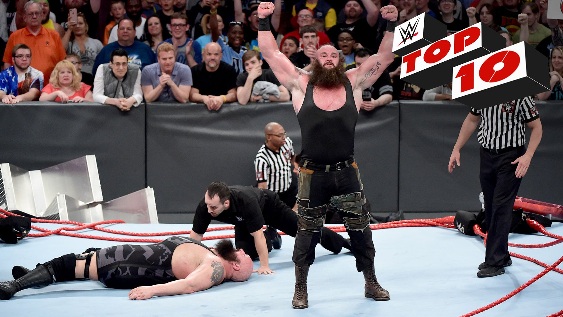 Top 10 momentów Raw: WWE Top 10 17.04.17