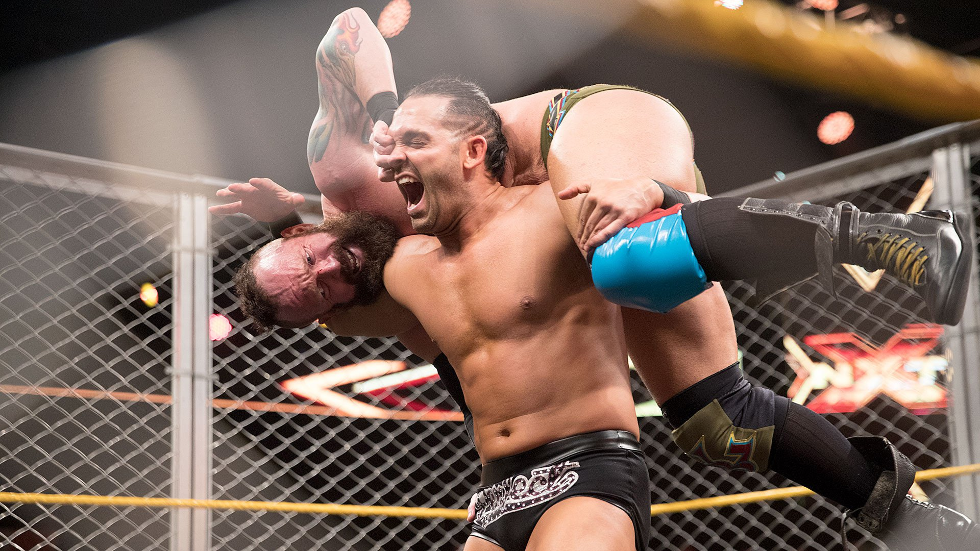 Tye Dillinger vs. Eric Young - Steel Cage Match: WWE NXT 19.04.17