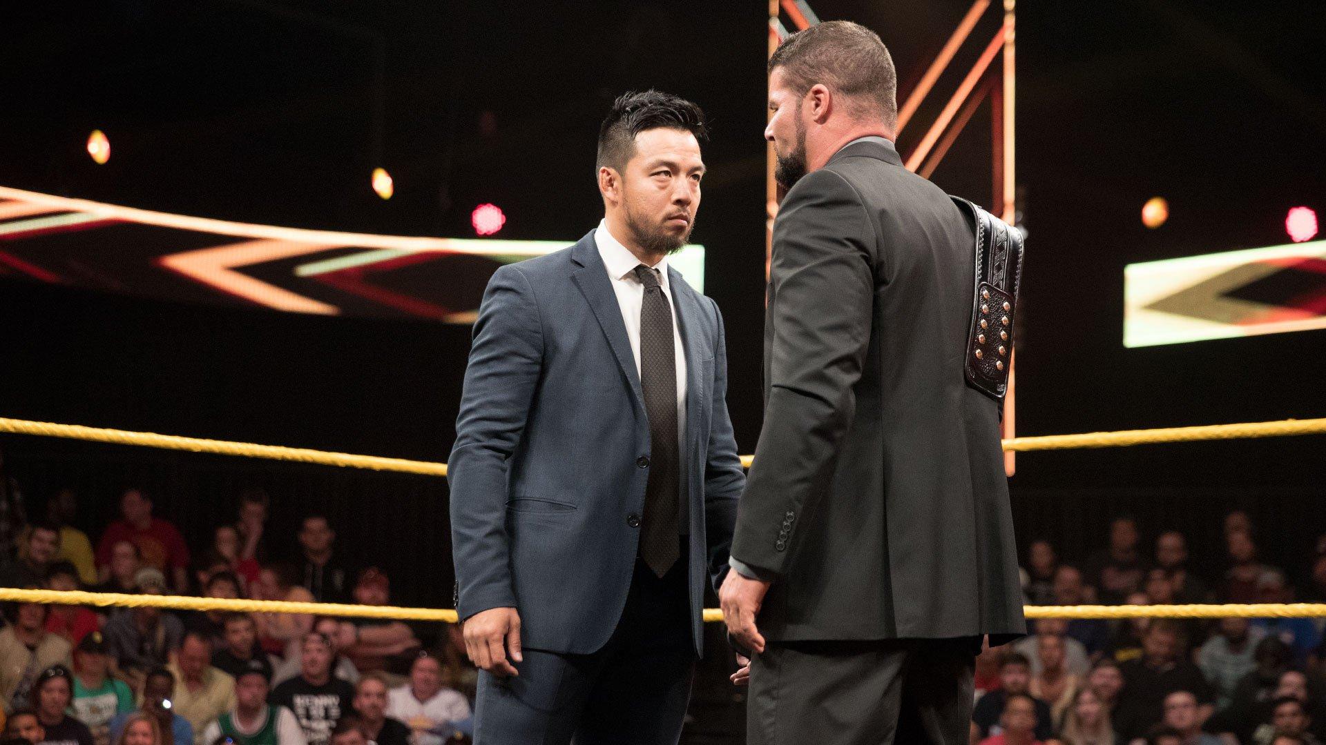 Hideo Itami staje przed Mistrzem NXT Bobby Roodem: WWE NXT 19.04.17