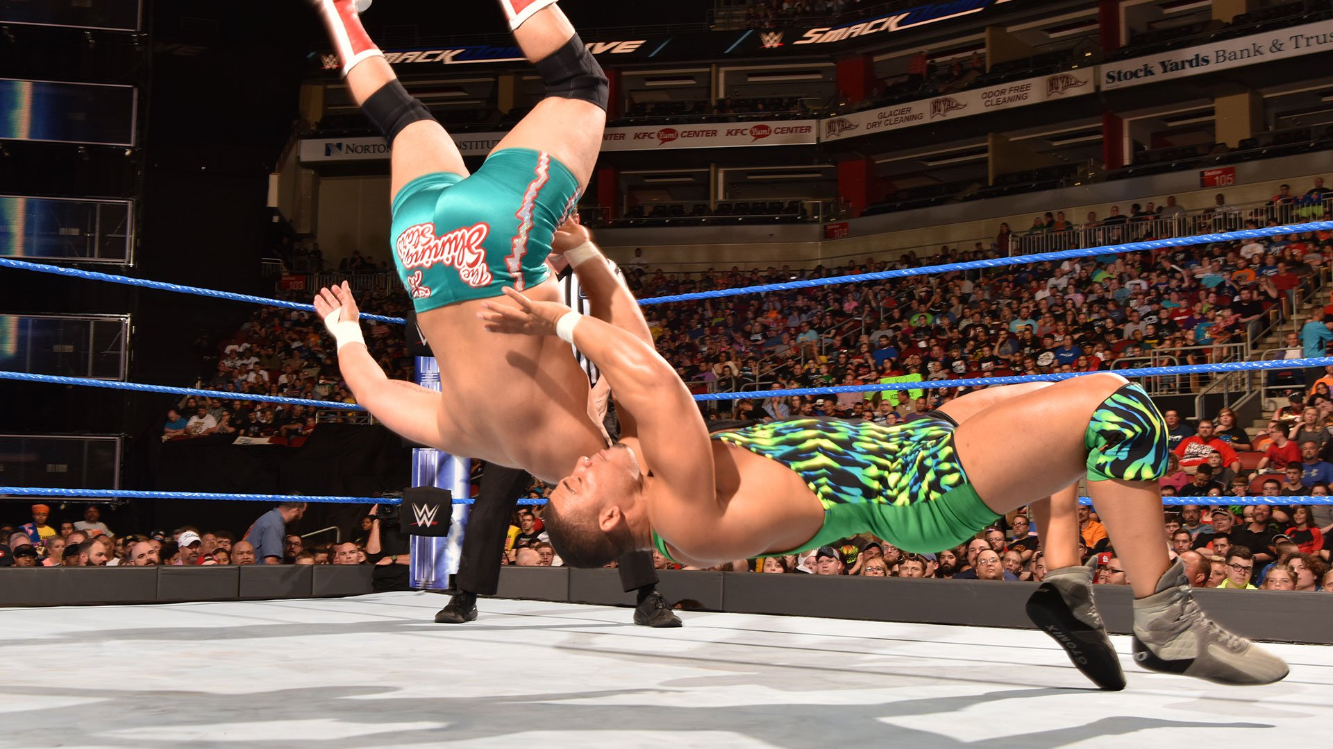 American Alpha vs. The Colons: SmackDown LIVE 18.04.17