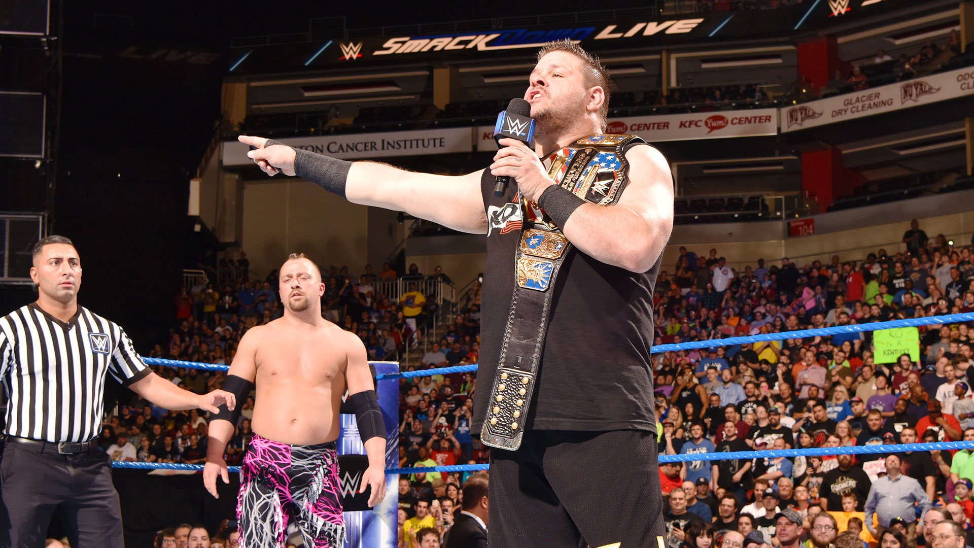 Le Face of America Open Challenge de Kevin Owens: SmackDown LIVE: 18 avril 2017