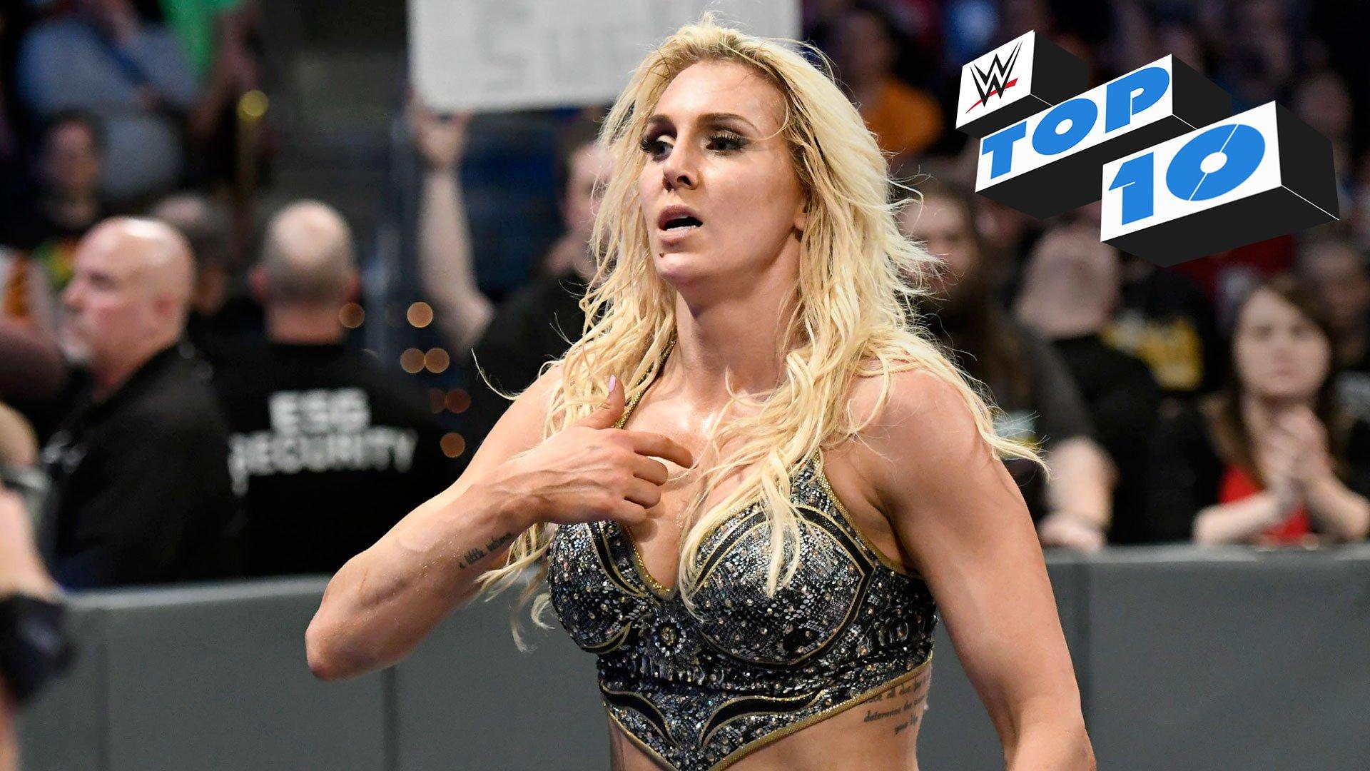 Top 10 momentów SmackDown LIVE: WWE Top 10 18.04.18