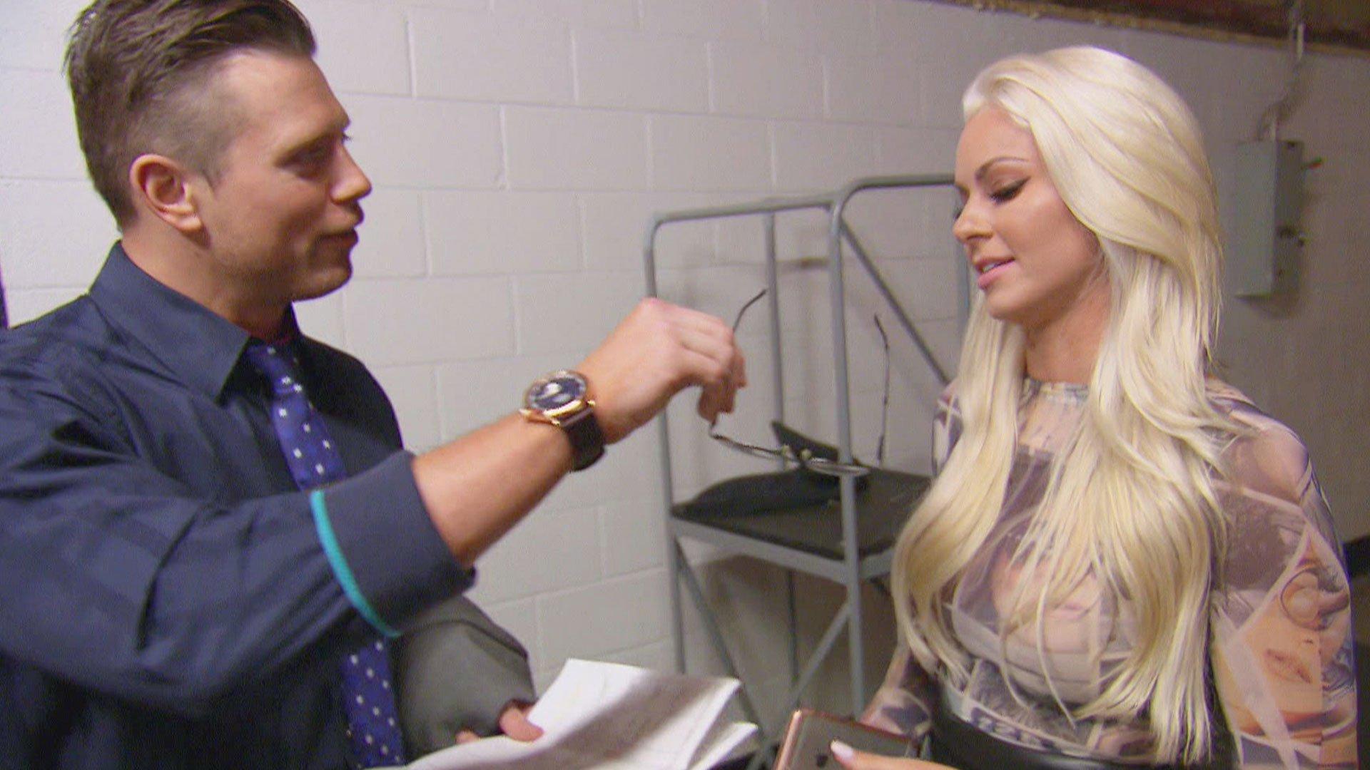 The Miz i Neville sprawdzają wzrok Maryse: Total Divas 19.04.17