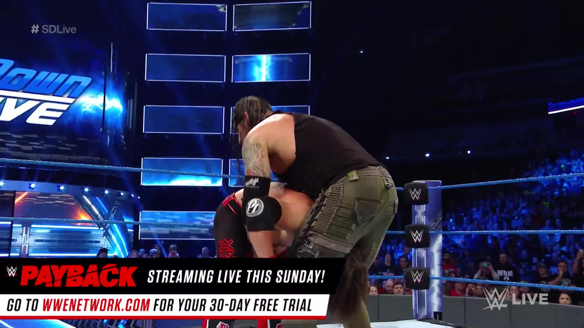 AJ Styles vs. Baron Corbin: SmackDown LIVE, 25 avril 2017