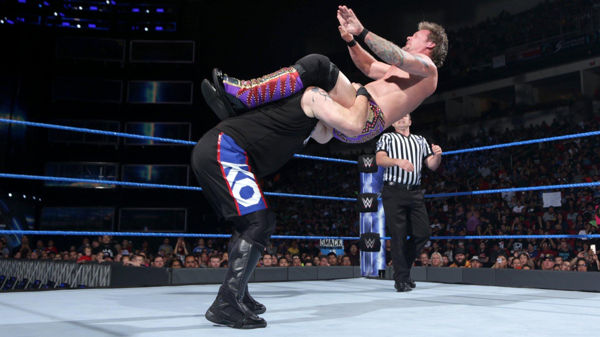 Chris Jericho vs. Kevin Owens - Match de Championnat des États-Unis: SmackDown LIVE, 2 mai 2017