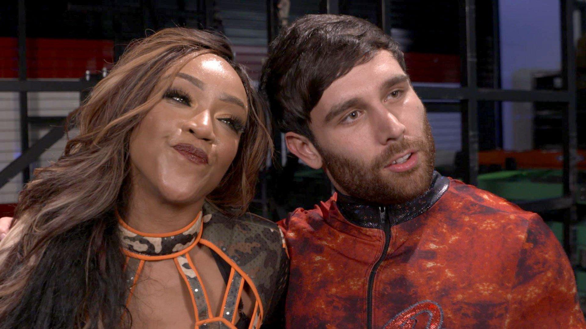 Alicia Fox i Noam Dar świętują za kulisami: WWE.com Exclusive 15.05.17